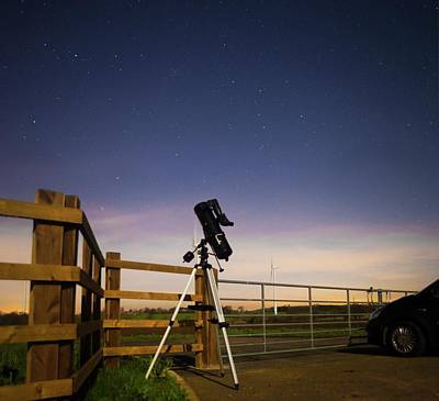 Photograph - A Road Trip To The End Of The Universe by Robert Lane