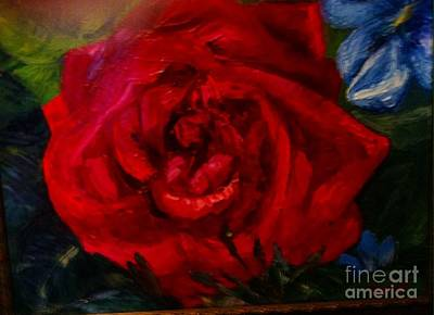 Painting - A  Rose Is by Beverly Boulet