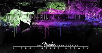 Digital Art - A Rock Solid Legacy by Gary Bodnar