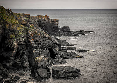 Kernow Photograph - A Rocky End by Martin Newman