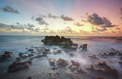 Photograph - A Rocky Sunrise. by Evelyn Garcia