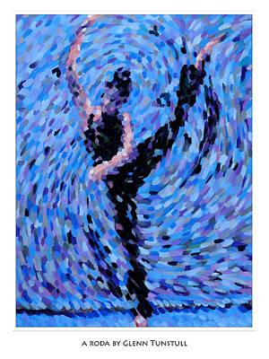 Painting - A Roda by Glenn Tunstull