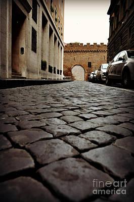 Photograph - A Roman Street by Eric Liller