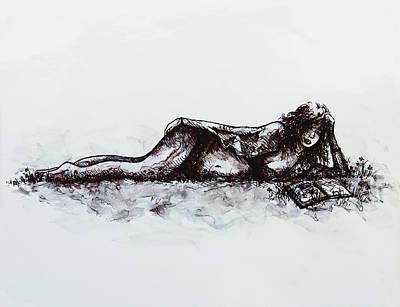 Novel Painting - A Romance by Rachel Christine Nowicki