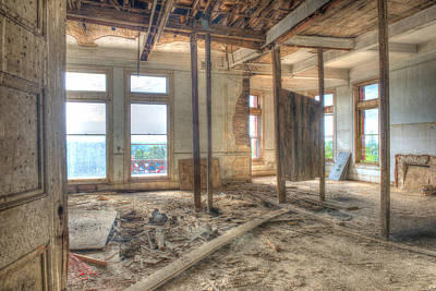 Hdr Photograph - A Room Off Limits by Jim Thompson