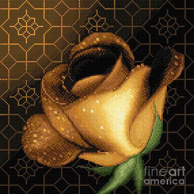 A Rose For You Art Print by Stoyanka Ivanova