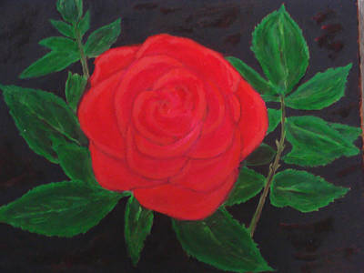 Painting - A Rose Is A Rose Is A Rose by Rod Jellison