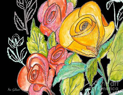 Digital Art - A Rose Is Just A Rose by Iris Gelbart