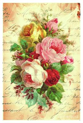 A Rose Speaks Of Love Art Print