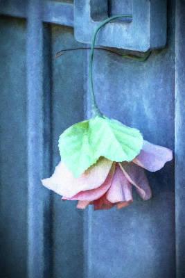 Mausoleum Digital Art - A Rose To Remember by Terry Davis
