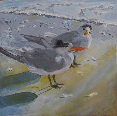Painting - A Royal Tern by Libby  Cagle