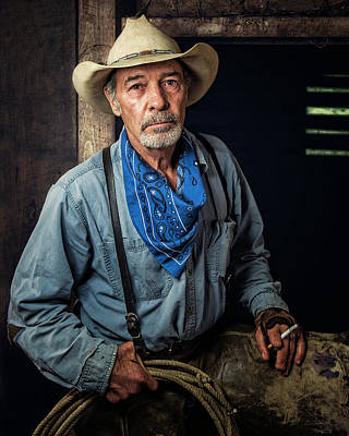 Photograph - A Rugged Soul by Ron McGinnis