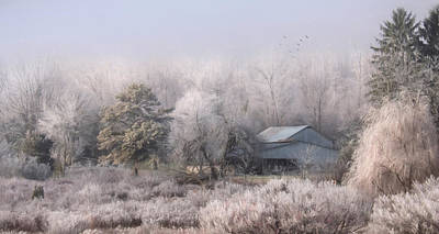 Frost Mixed Media - A Rural Neighbor by Lori Deiter