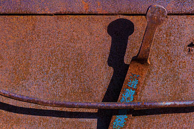 Photograph - A Rusted Development II by Paul Wear