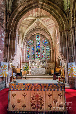 St Mary Photograph - A Sacred Place by Adrian Evans