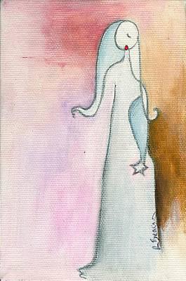 A Sad Star Art Print by Ricky Sencion