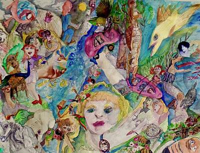 Mixed Media - A Safe Place by Barbara Greene Mann