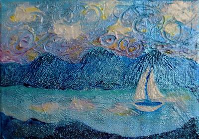 Painting - A Sailboat For The Mind #2 by Corey Habbas