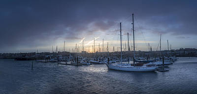 Photograph - A Sailors Warning At Bangor Marina by Glen Sumner