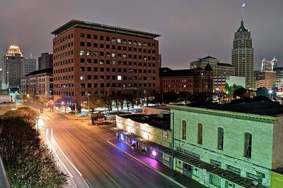 Photograph - A San Antonio Evening by Frozen in Time Fine Art Photography