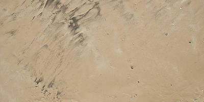Abstract Beach Landscape Photograph - A Sand Background by Tom Gowanlock