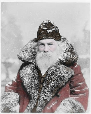 Photograph - A Santa Claus Story by Richard Reeve
