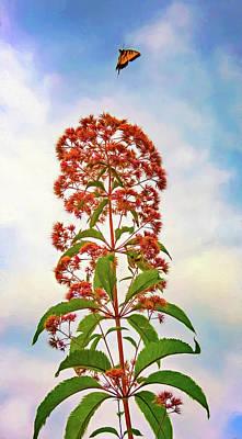Weed Digital Art - A Satisfied Customer - Paint by Steve Harrington