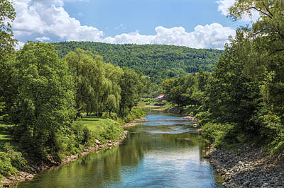 Photograph - A Scene From Vermont by John M Bailey