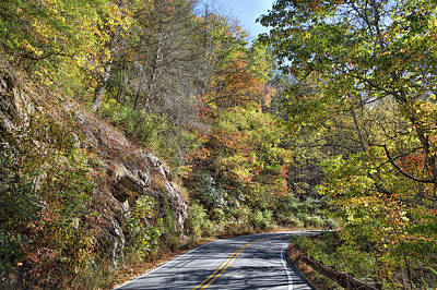 Photograph - A Scenic Highway by John M Bailey