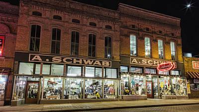 A Schwab - Memphis Art Print by Stephen Stookey
