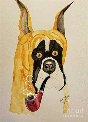 Painting - A Scooby-doo Moment by Maria Urso