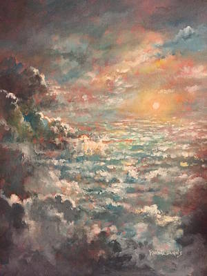Painting - A Sea Of Clouds by Randol Burns