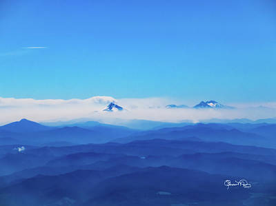 Photograph - A Sea Of Mountains by Susan Molnar