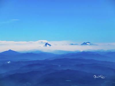 Photograph - A Sea Of Mountains by Susan Molnar