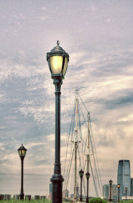Photograph - A Seaport Scene by Cate Franklyn