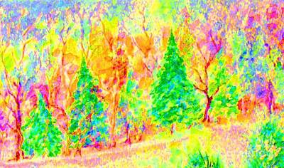 Painting - A Season Of Joy by Hazel Holland