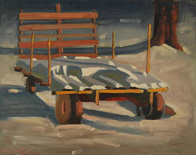 Painting - A Second Blanket by Len Stomski