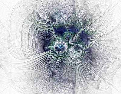 Devotional Digital Art - A Secret Sky - Fractal Art by NirvanaBlues