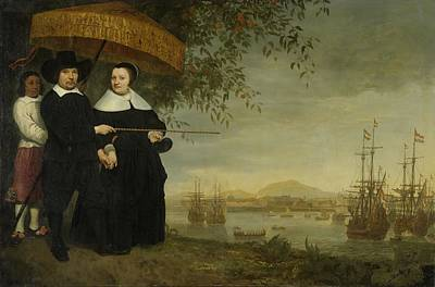 Painting - A Senior Merchant Of The Dutch East India Company by Celestial Images