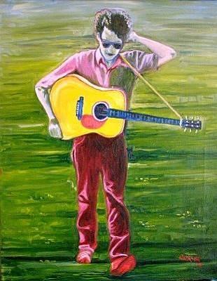 Bob Dylan Painting - A Series Of Dreams by Natasha Laurence