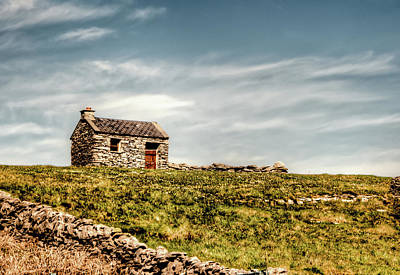 A Shack On The Aran Islands Art Print