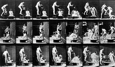 A Shock To The Nervous System Print by Eadweard Muybridge