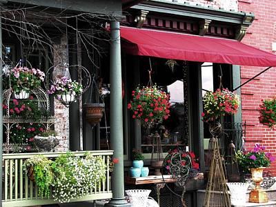 Photograph - A Shop Around The Corner by Angela Davies
