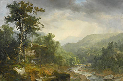 Painting - A Showery Day Among The Mountains by Asher Brown Durand
