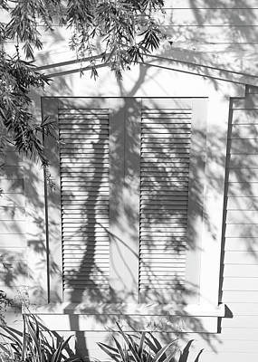 Photograph - A Shuttered Window by Cora Wandel
