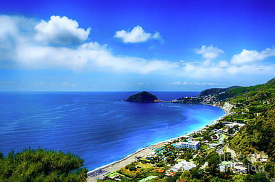 A Side Of Ischia Art Print by Alessandro Giorgi Art Photography