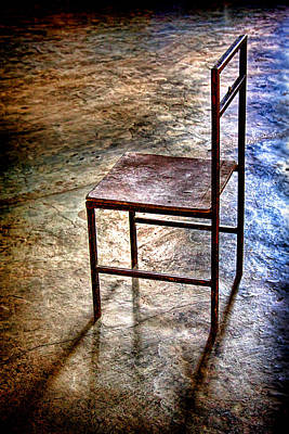 Photograph - A Simple Chair by Tatiana Travelways