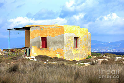 Photograph - A Simple Life On The Delos Island by John Rizzuto