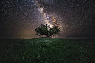 Photograph - A Sky Full Of Stars by Aaron J Groen