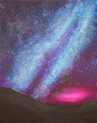 Painting - A Sky Full Of Stars by Iryna Goodall